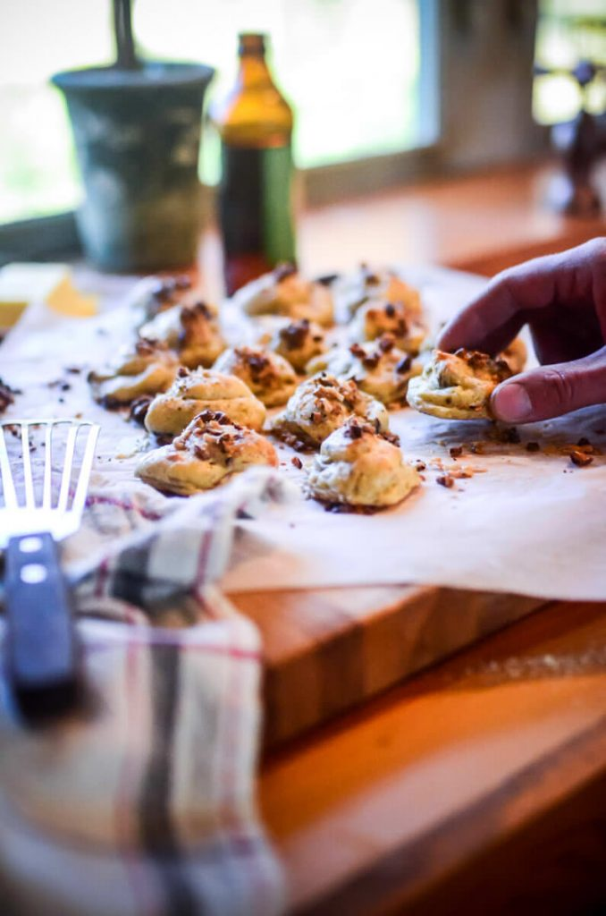 Walnut and Parmesan Puffs | The Elliott Homestead