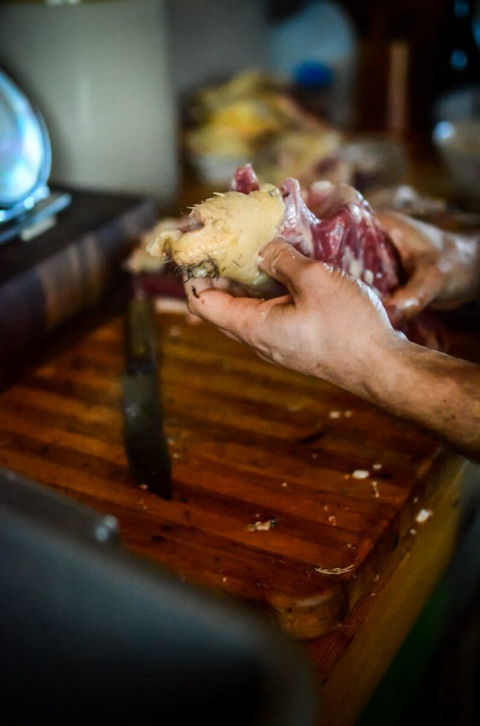 Duck butchering | The Elliott Homestead