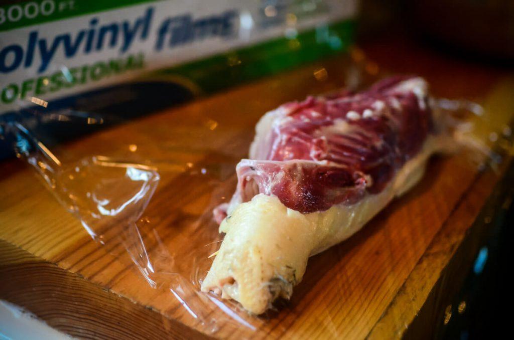 Duck carcass for stock | The Elliott Homestead
