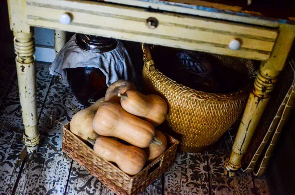 Food storage in our cottage kitchen | The Elliott Homestead