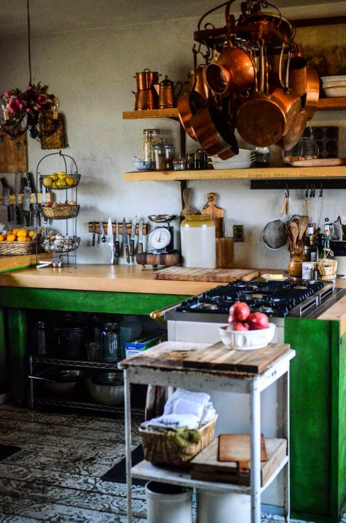 Workspace in our cottage kitchen | The Elliott Homestead