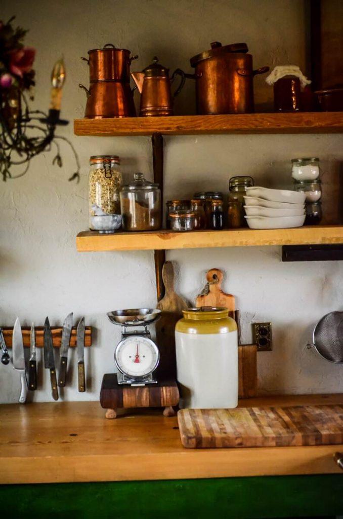 Food prep area our cottage kitchen | The Elliott Homestead