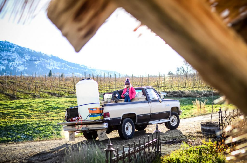 Hauling water | The Elliott Homestead