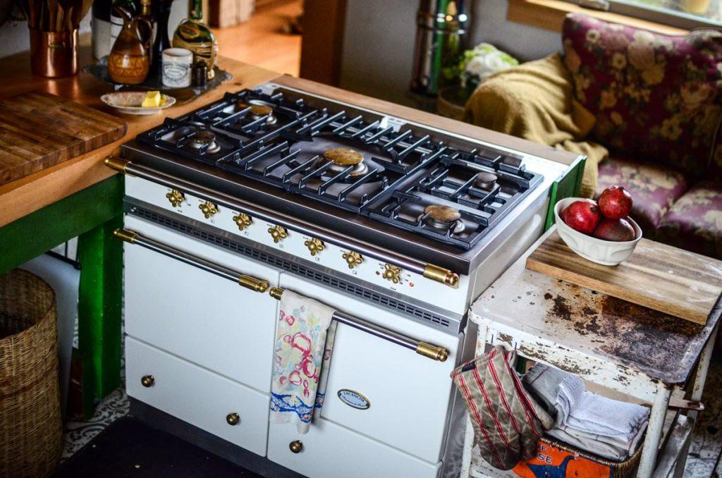 Lacanche range in our cottage kitchen | The Elliott Homestead