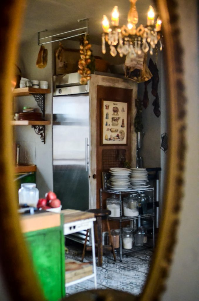 Hiding the refrigerator in our cottage kitchen | The Elliott Homestead