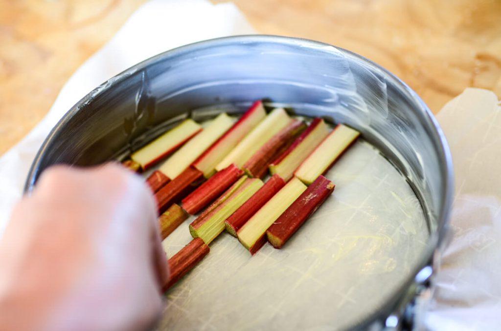 Rhubarb Pieces | The Elliott Homestead
