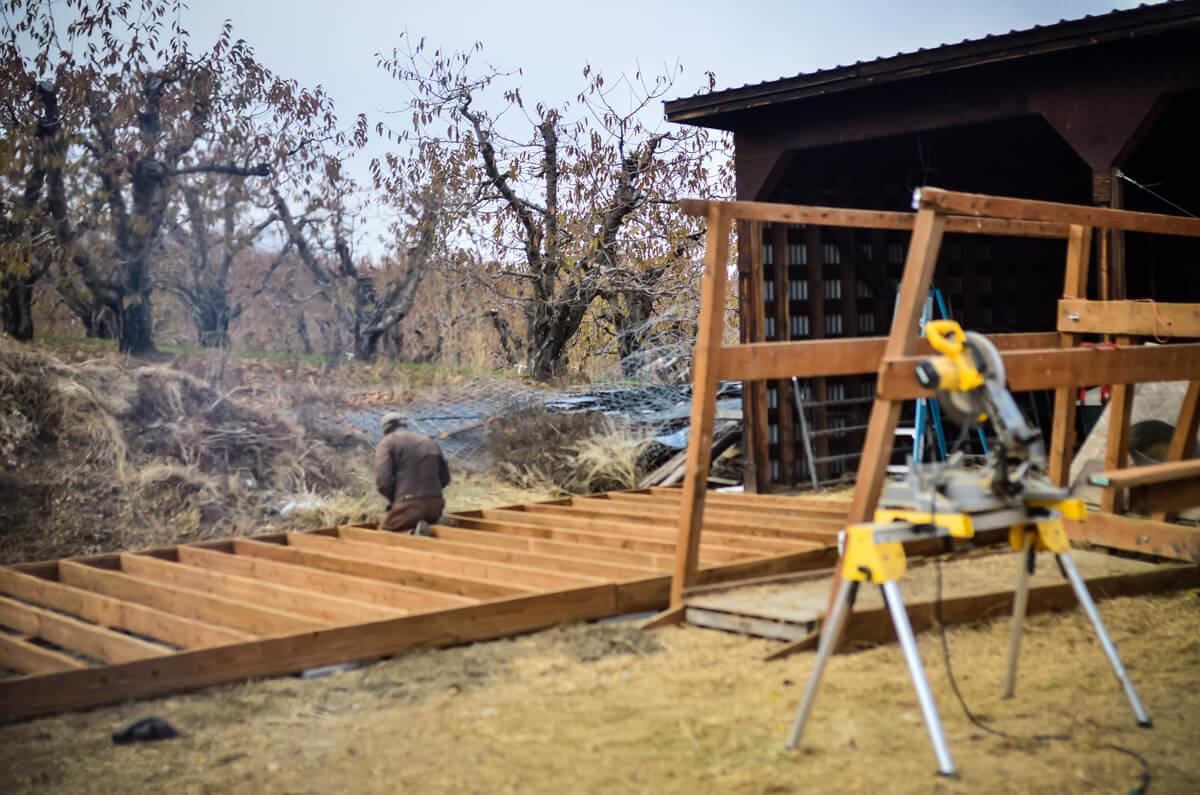 Barn renovation | The Elliott Homestead