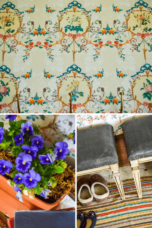 Vintage Cottage Wallpaper | The Elliott Homestead
