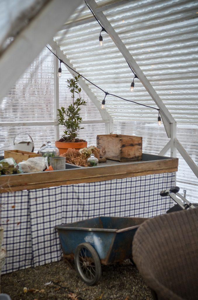 The Greenhouse in Winter | The Elliott Homestead