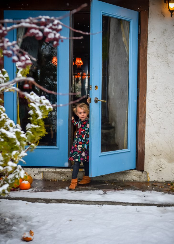 Kids coming out to play in the snow | The Elliott Homestead