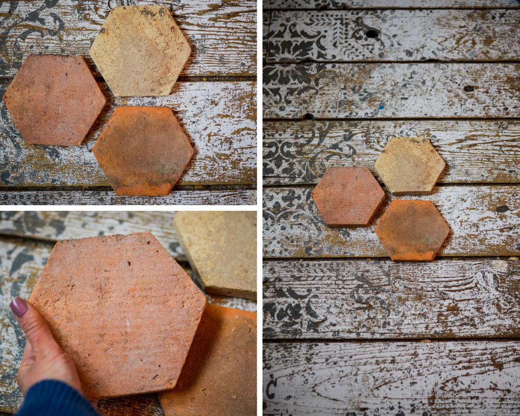 Vintage Terracotta Tile | The Elliott Homestead