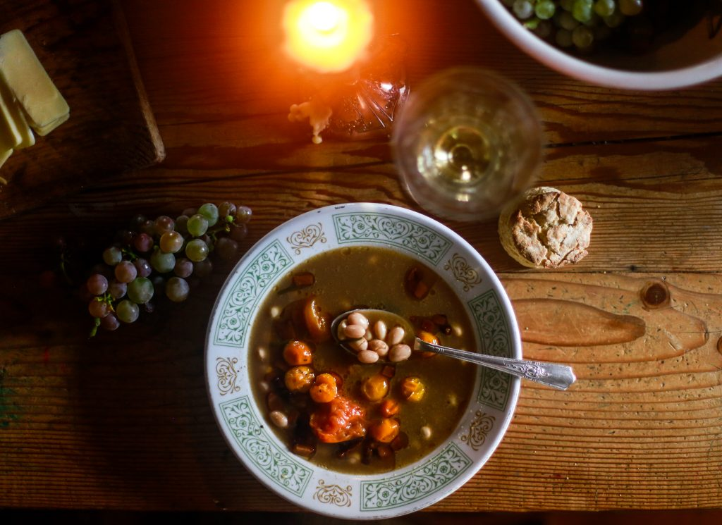 Borlotti Bean Soup | The Elliott Homestead