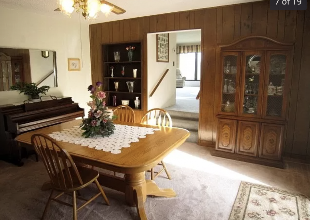 BEFORE | Farmhouse Dining Room