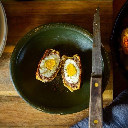 Baked Scotch Eggs   The Elliott Homestead