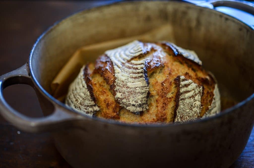Whole grain sourdough bread | The Elliott Homestead