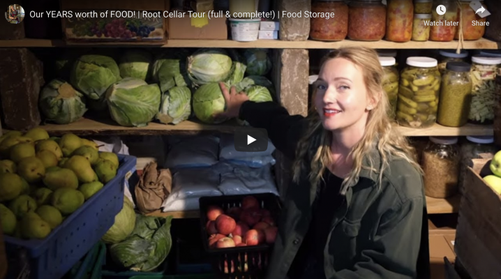 Root Cellar Tour | The Elliott Homestead