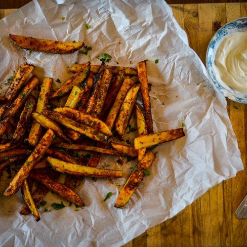 Spicy Oven Fries | The Elliott Homestead (.com)