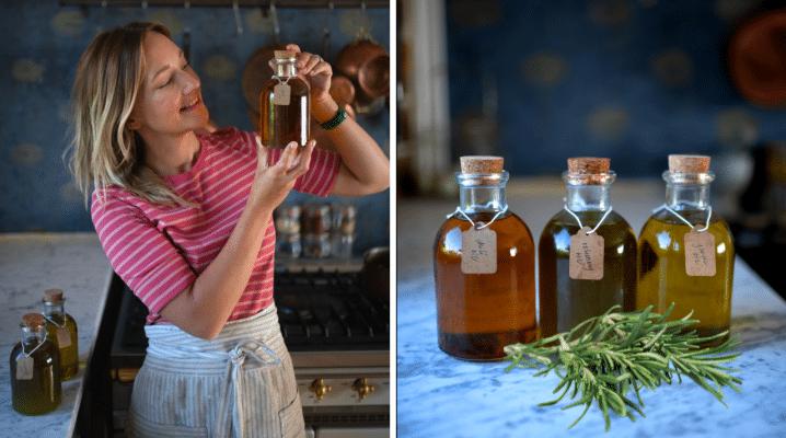 Homemade Flavored Oils | The Elliott Homestead (.com)