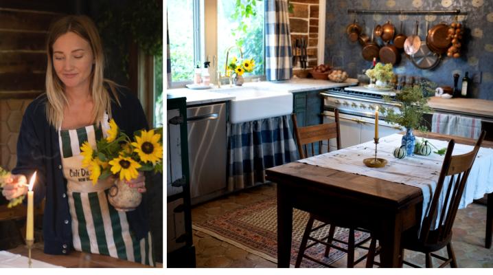 Come transform the cottage kitchen for Autumn! The Elliott Homestead (.com)